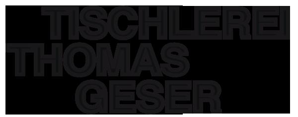 Tischlerei Thomas Geser Logo